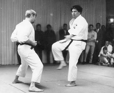 Bob Cook With Ed Parker Kempo
